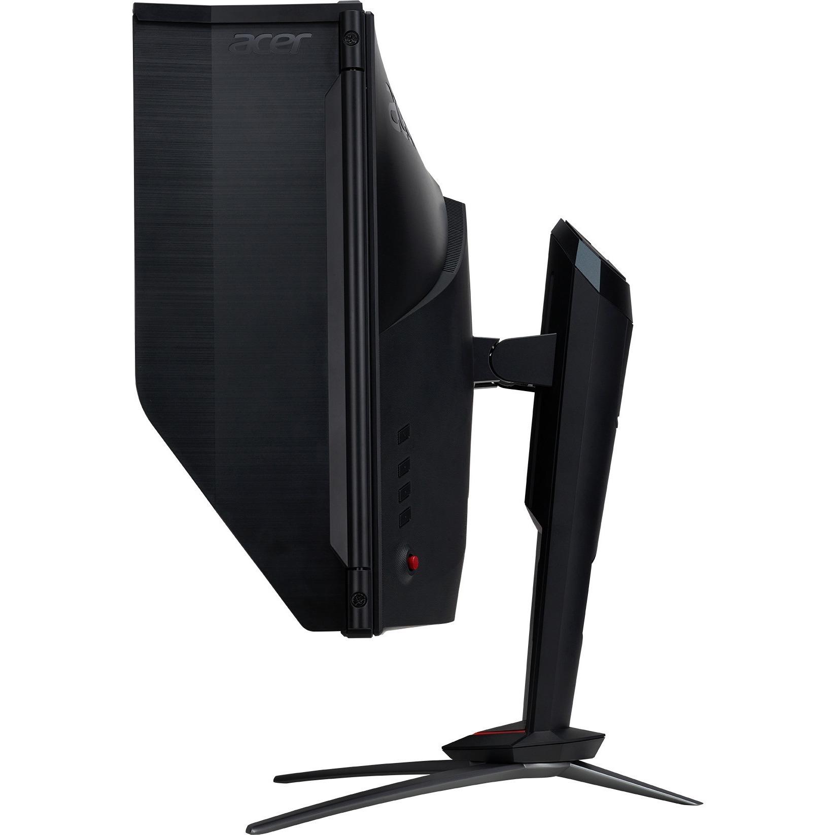 Acer Predator XB273K 68.6 cm 27inch LED LCD Monitor - 16:9 - 4 ms GTG - 3840 x 2160 - 1.07 Billion Colors - 350 cd/mAnd#178;, 400 cd/mAnd#178; - 4K UHD - Speakers - HDMI
