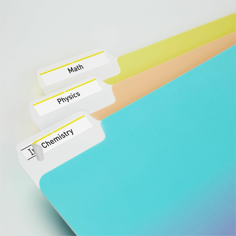 avery u00ae permanent file folder labels with trueblock