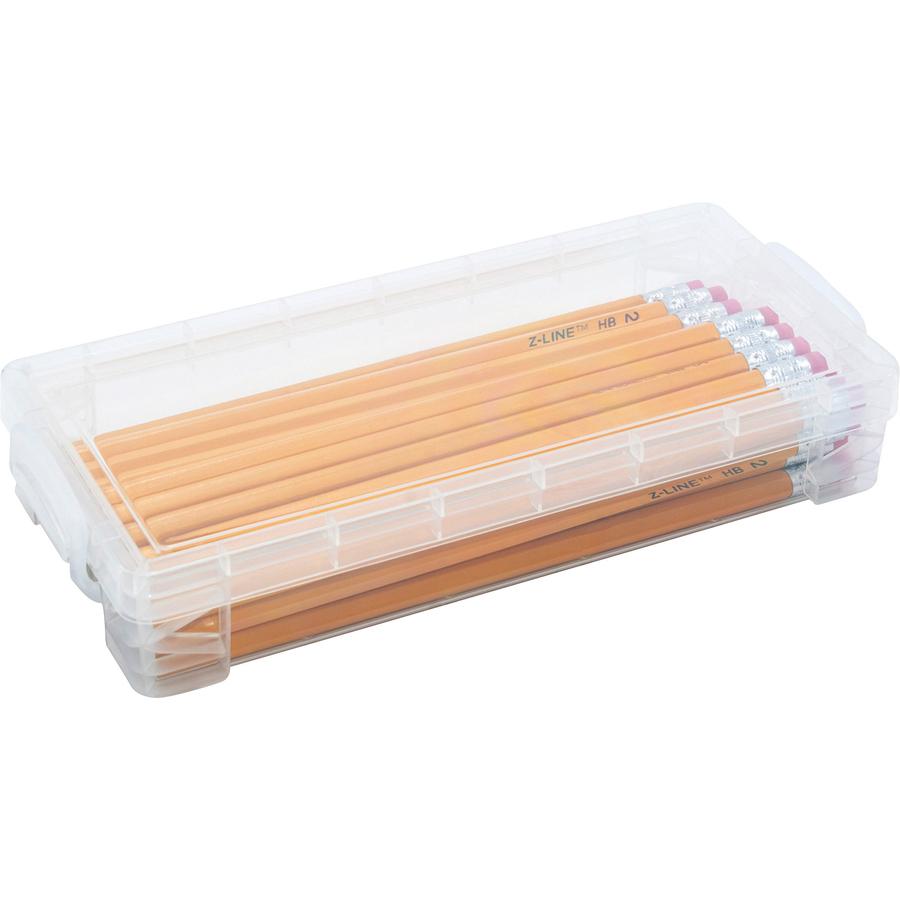 Advantus Super Stacker Stackable Pencil Box --AVT40309