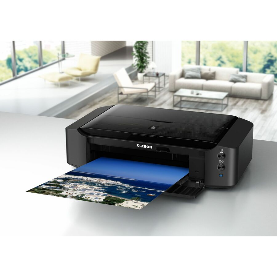 Canon PIXMA iP IP8750 Inkjet Printer - Colour - 9600 x 2400 dpi Print - Photo/Disc Print