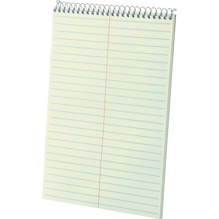 Ampad Kraft Cover Steno Book - 80 Sheets - Wire Bound - Front Ruling