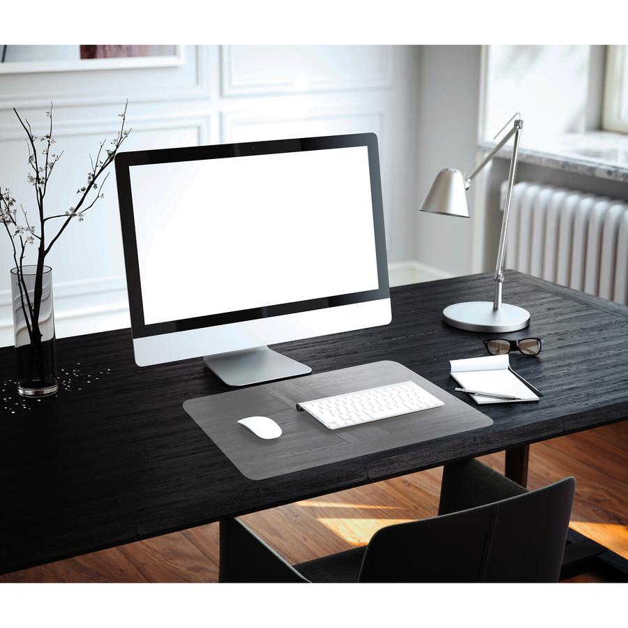 Floortex Anti Microbial Desk Pad Flrfphmtm4861ev Blue