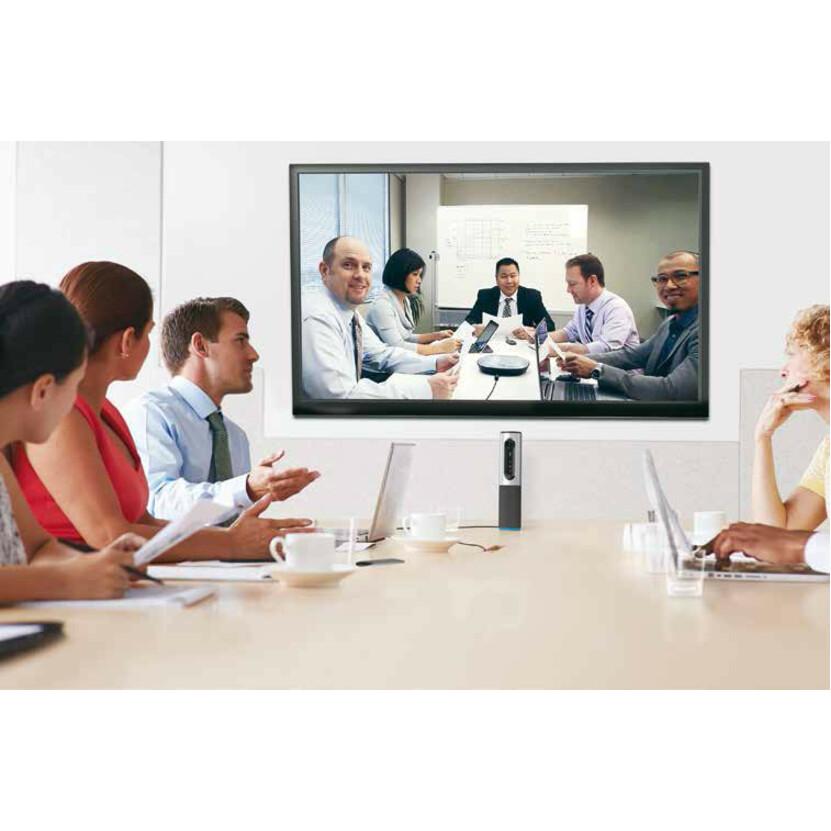 Logitech ConferenceCam Video Conferencing Camera - 30 fps - Silver - USB