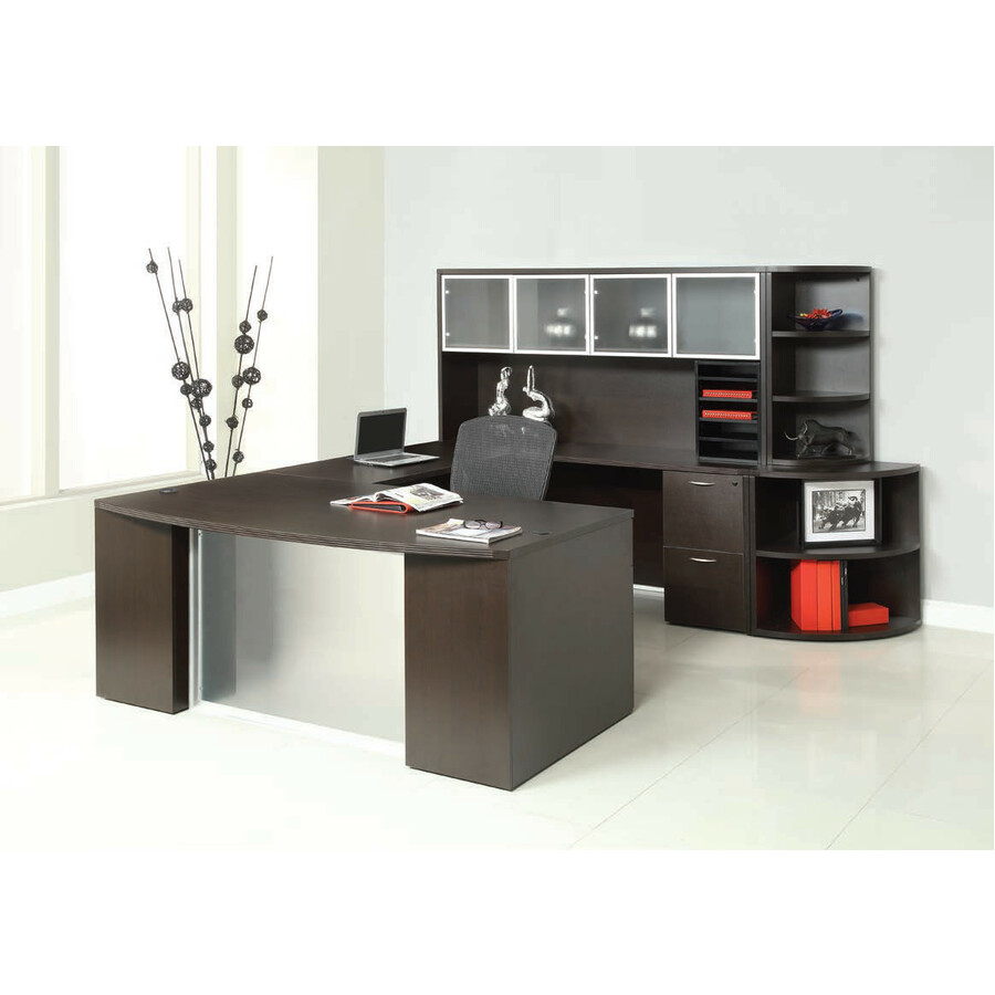 Osp Furniture Napa Naptyp212 Office Suite Finish Urban Walnut