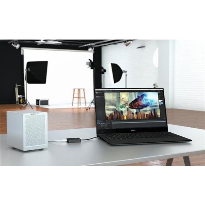 StarTech.com Thunderbolt 3 to Thunderbolt Adapter - Thunderbolt 3 USB-C to Thunderbolt Adapter