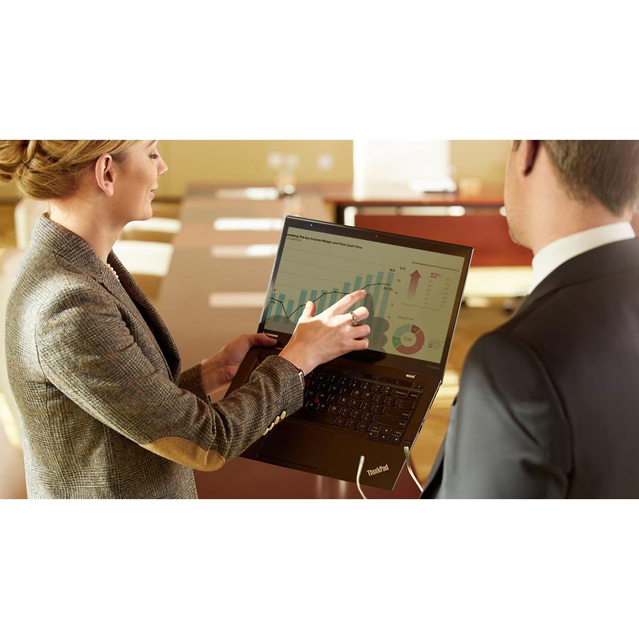 Lenovo ThinkPad X1 Carbon 5th Gen 20HR002BUK 35.6 cm 14inch LCD Ultrabook - Intel Core i7 7th Gen i7-7500U Dual-core 2 Core 2.70 GHz - 8 GB LPDDR3 - 256 GB SSD -