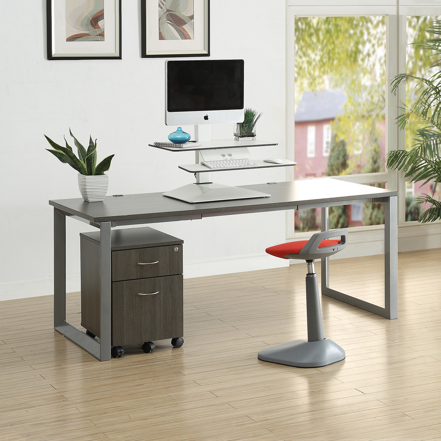 Llr99548 Lorell Sit To Stand Electric Desk Riser