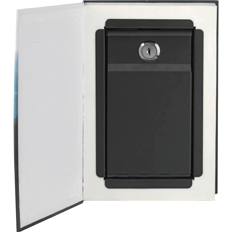 Steelmaster Real Feel Book Safe - Key Lock - for Home, Office, Money
