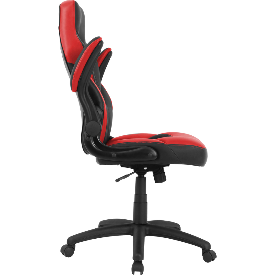 Incredible Lorell Bucket Seat High Back Gaming Chair Red Black Seat Red Black Back 5 Star Base 28 Length X 20 5 Width X 47 5 Height Machost Co Dining Chair Design Ideas Machostcouk