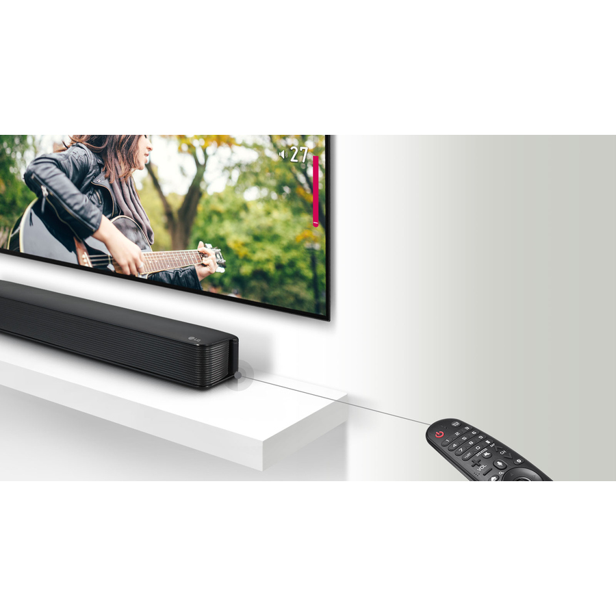 LG SK1 2 0 Bluetooth Sound Bar Speaker - Dolby Digital - USB