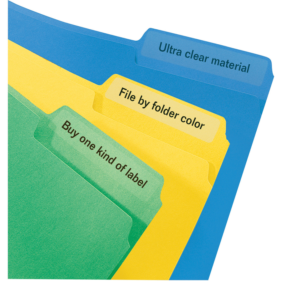 Avery® Permanent Clear File Folder Labels - The Office Point