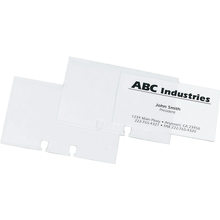Rolodex 67691 Rolodex Business Card Sleeve Refill Rol67691 Rol