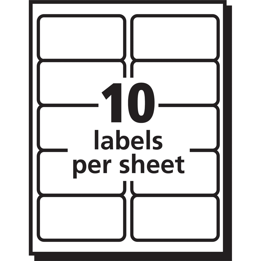 It's just a picture of Invaluable Clear Printable Mailing Labels