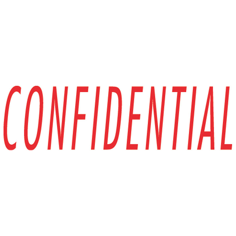 sparco confidential red title stamp mac papers inc