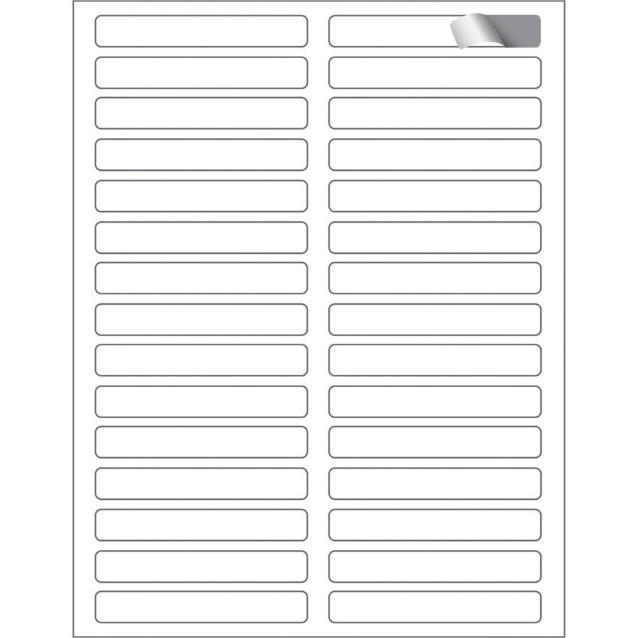 Maco ml ff31 assorted laser inkjet file folder labels for Maco laser and inkjet labels template