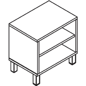 Lorell Concordia Series Latte Laminate Desk Ensemble__LLR81933