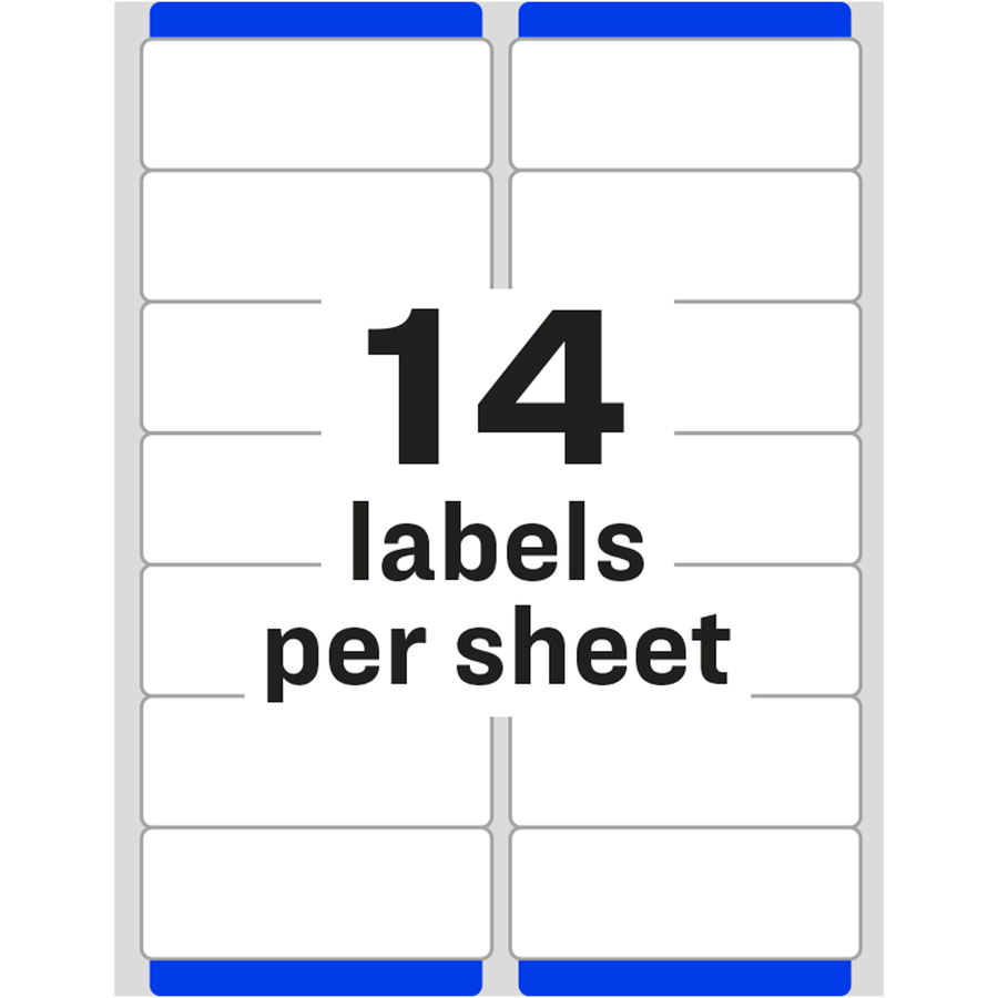 Avery 5662 Template Avery Easy Peel Permanent Laser Address Labels