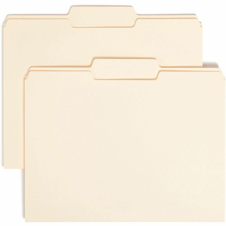 Smead File Folders With Single-Ply Tab