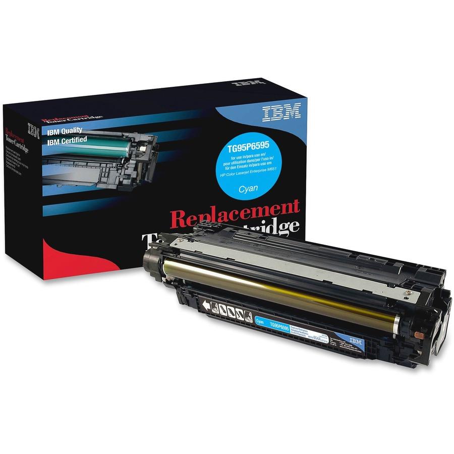 Compatible Color Laserjet Enterprise M651 M651N M651DN M651XH Series Printer Toner Replacement for HP 654X 654A CF331A Laser Printer Cartridge Cyan 2-Pack High Yield