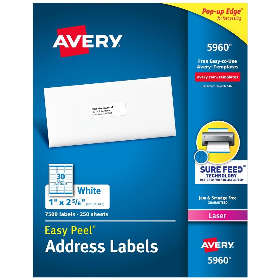 "60 BLANK 4/"" x 3 1//3/"" White Address Laser return Mailing Labels 10 SHEETS"