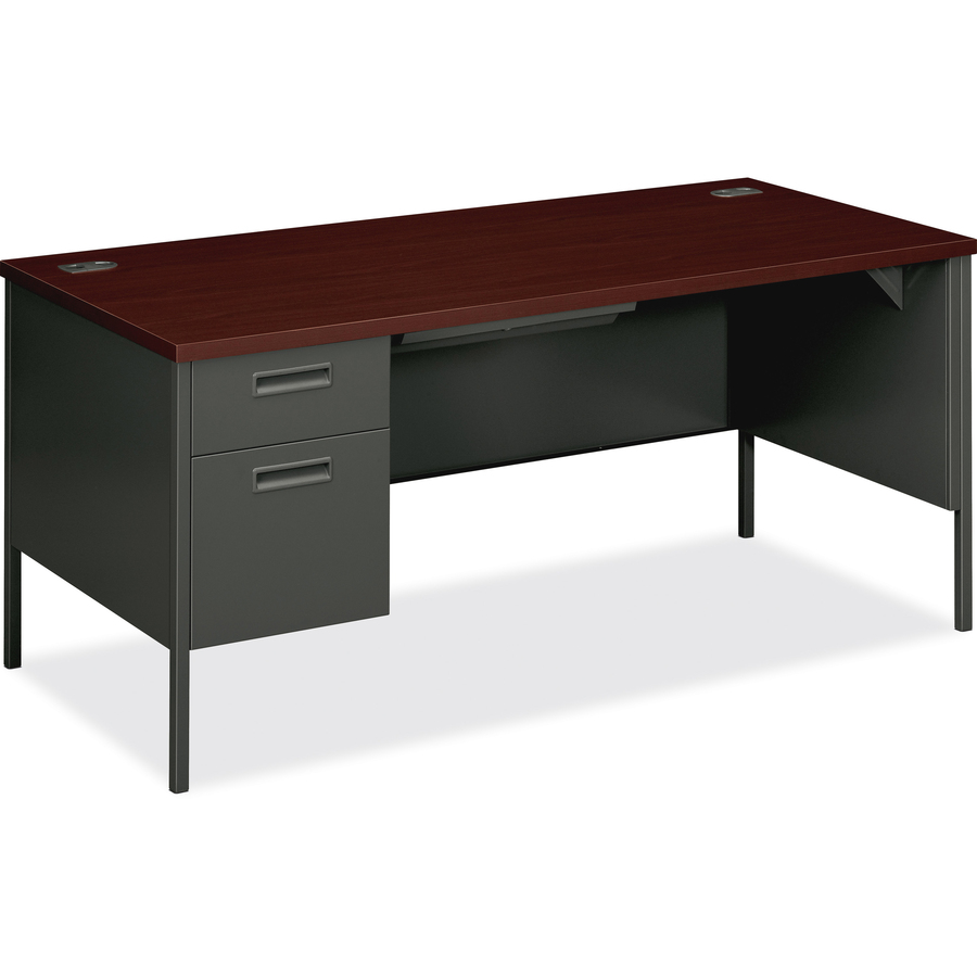 pedestal desk out kit kaleidoscope blue end single panel products my office