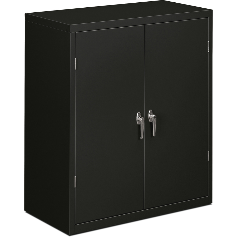HON Brigade Series Storage Cabinet 36  x 18.3  x 41.3  - 2 x Shelf(ves) - 2 x Door(s) - 250 lb Load Capacity - Security Lock Leveling Glide ...  sc 1 st  Office supply hut : hon storage cabinets  - Aquiesqueretaro.Com