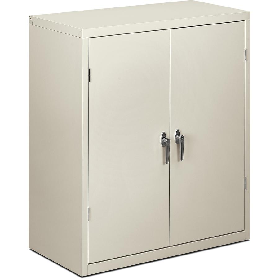 Hon Brigade 2 Shelf Storage Cabinet 36 Quot W 36 Quot X 18 3 Quot X
