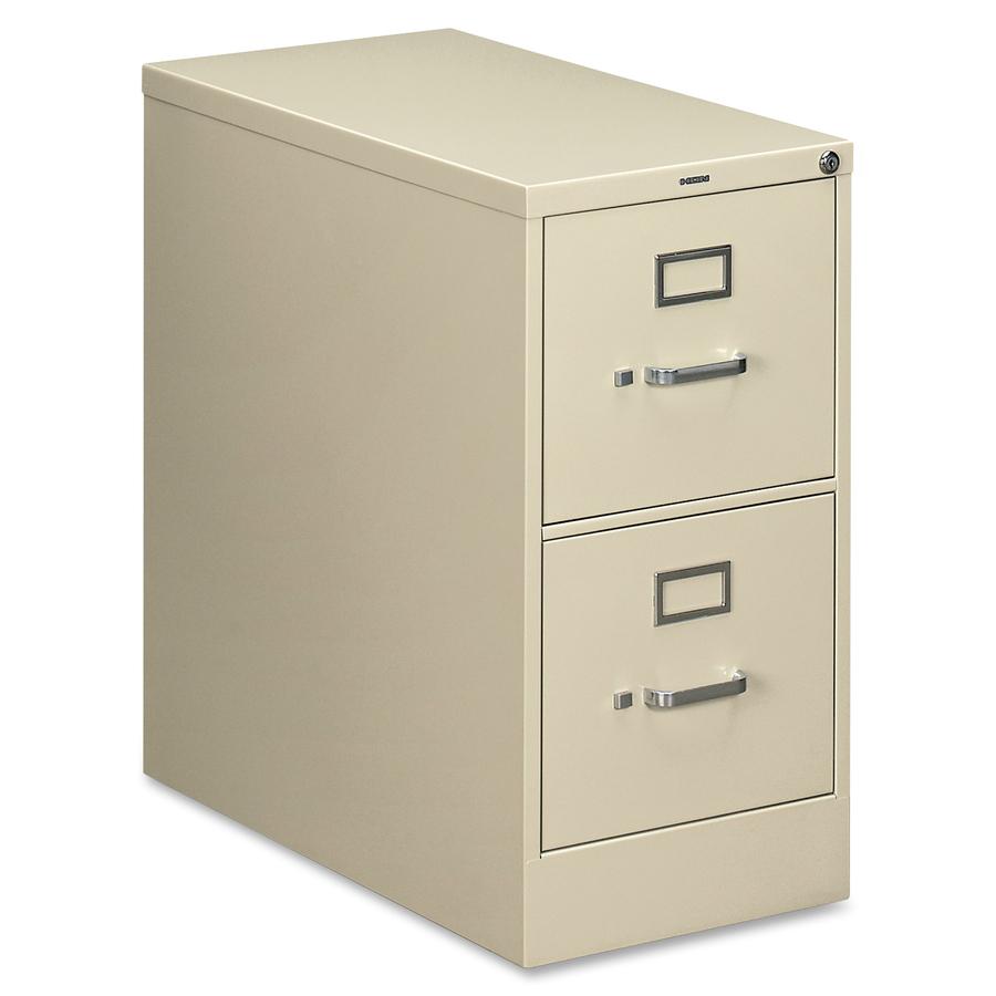Hon 210 Series Locking Vertical Filing Cabinets Hon212pl