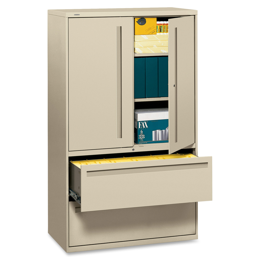 hutch file used hon cabinet jeanbolen wood lateral drawers metal with drawer info white wide
