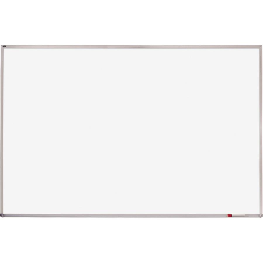 Quartet Whiteboard  Aluminum Frame 48 4 Ft Width X 72 6 Ft Height White Melamine Surface Silver Aluminum Frame Horizontal 1 Each