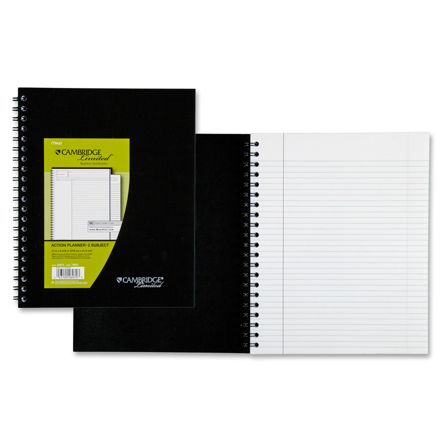 Rediform office products subject wirebound notebook wide - Original Front Original Front