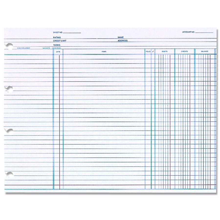 Wilson Jones Ledger Paper