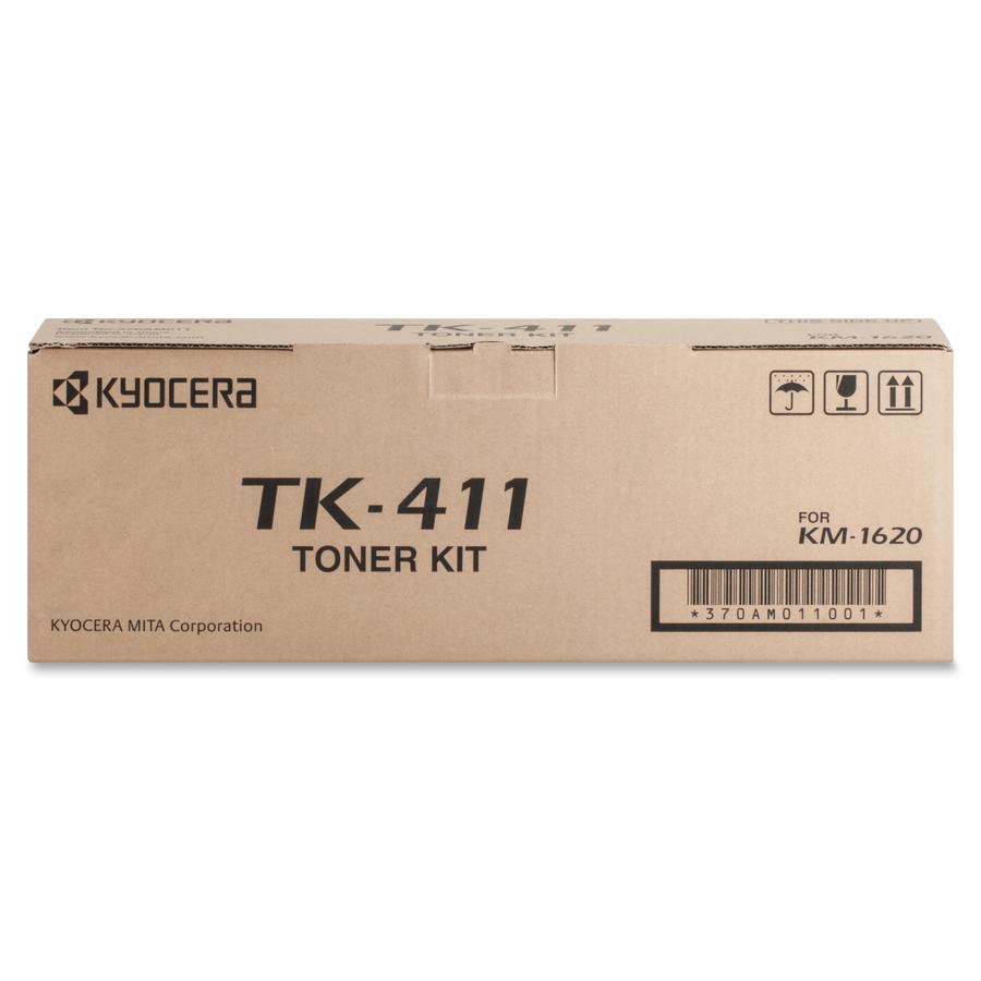 Kyocera TK-411 Black Toner Cartridge for KM-1620 KM-2020 KM-1635 KM-2050 KM-1650