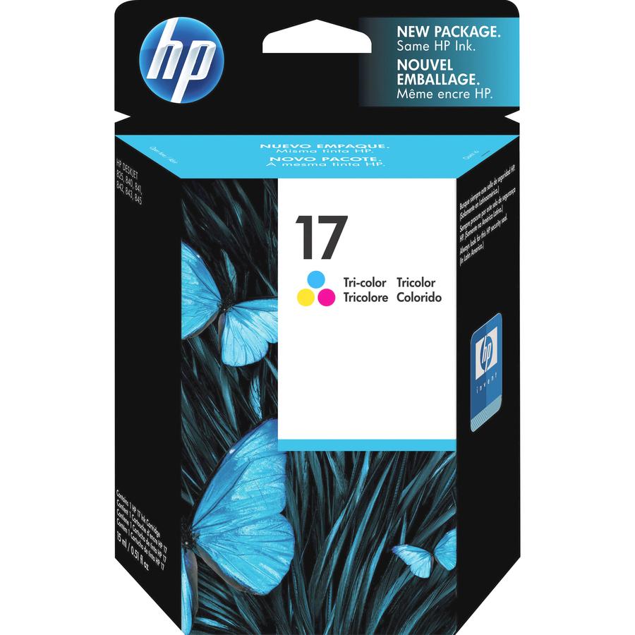 hp c6625a hp no 17 tri color ink cartridge hewc6625a hew c6625a
