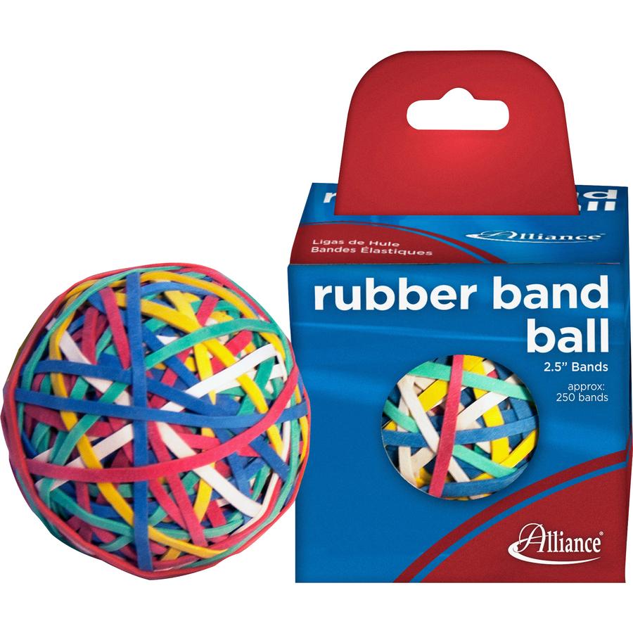 Alliance Rubber 00159 Rubber Band Ball 250 Advantage