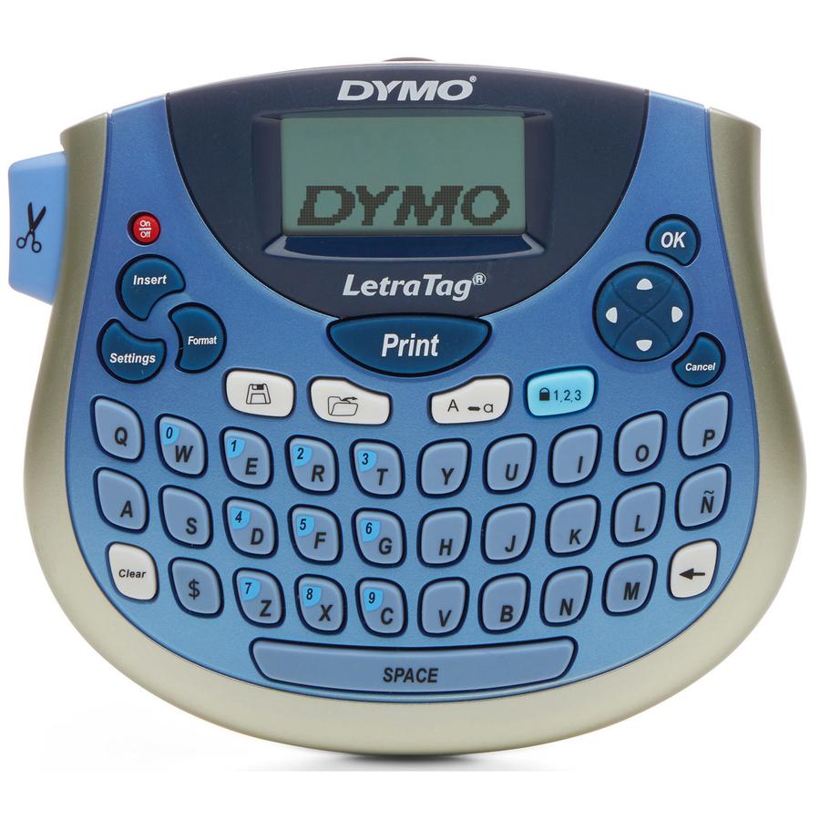 Dymo LT-100T LetraTag Plus Labelmaker - Direct Thermal - Label, Tape -  0 50