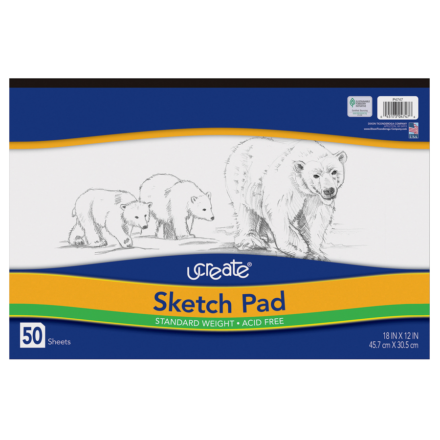 Pacon 4747, Art1st Sketch Pad, PAC4747, PAC 4747 - Office Supply Hut