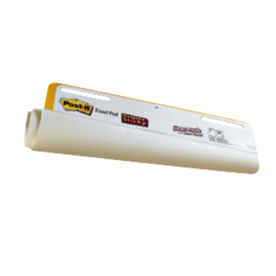 4 30-Sheet Pads//Carton 25 x 30 White Post-it Easel Pads Self-Stick Easel Pads