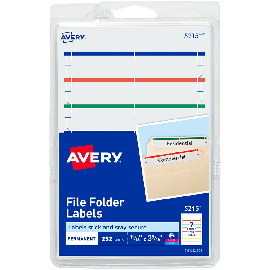 Discount AVE05215 Avery® 05215 Avery® Permanent File
