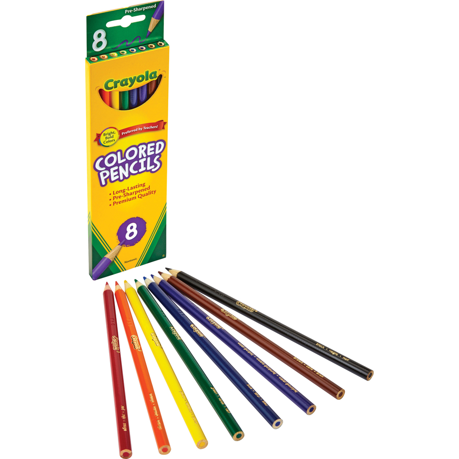 crayola crayola colored pencil cyo 684008 rrofficesolutions com