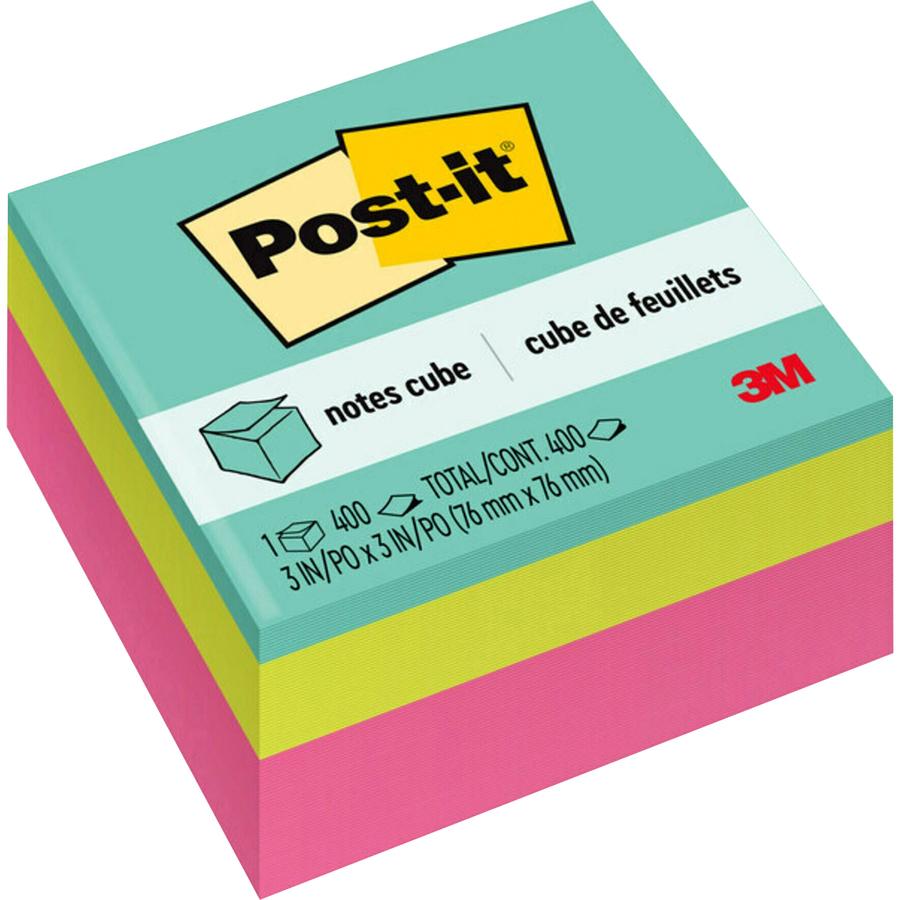 3m 2027 Rcr Post It Note Cube Mmm2027rcr Mmm 2027 Rcr Office