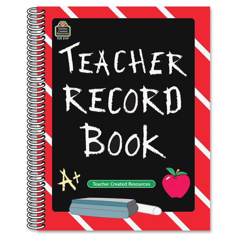 Teacher Created Resources Chalkboard Record Book Tcr2119 Original