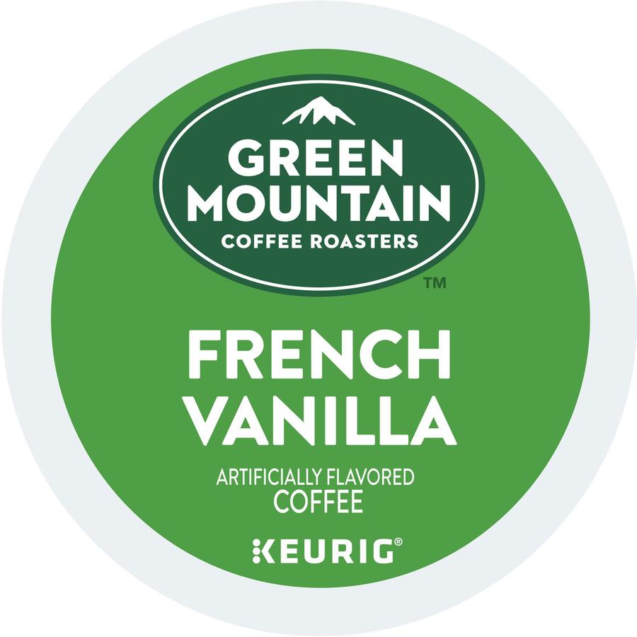 Green Mountain Coffee Roasters French Vanilla - Regular - K-Cup - 24 / Box