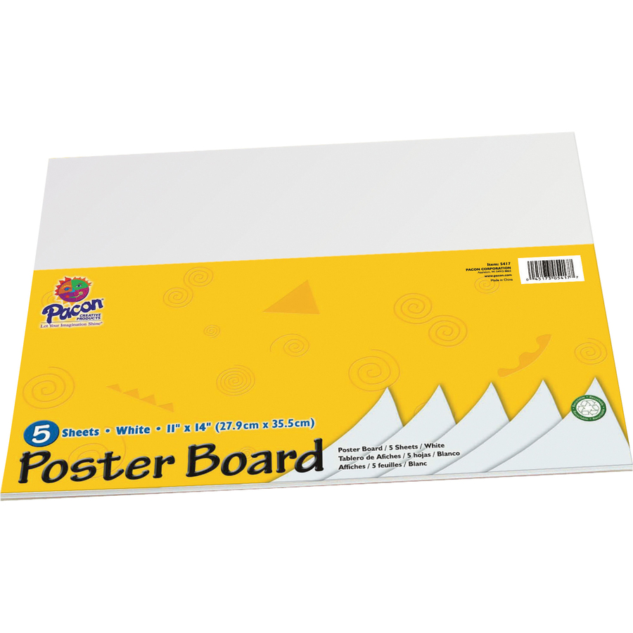 pacon peacock poster board sets pac5417 great bargains
