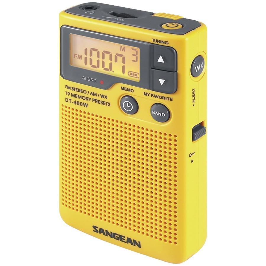 Sangean DT-400W Weather & Alert Radio - Large
