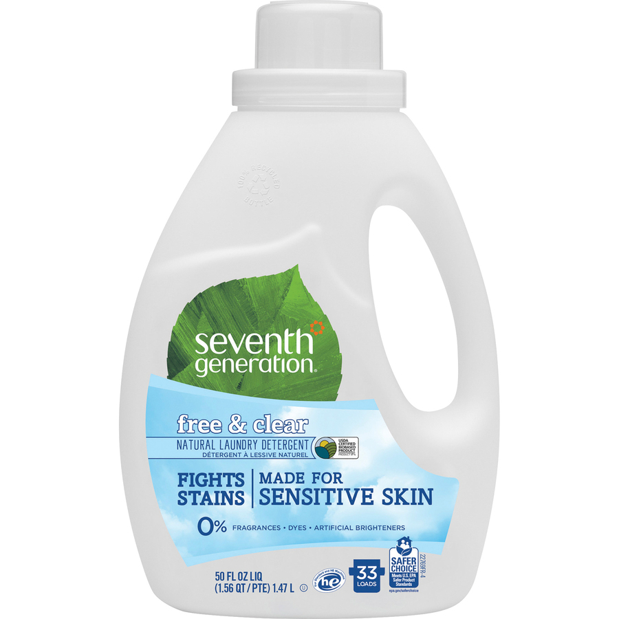 Bulk Seventh Generation 50 Oz Natural Laundry Detergent