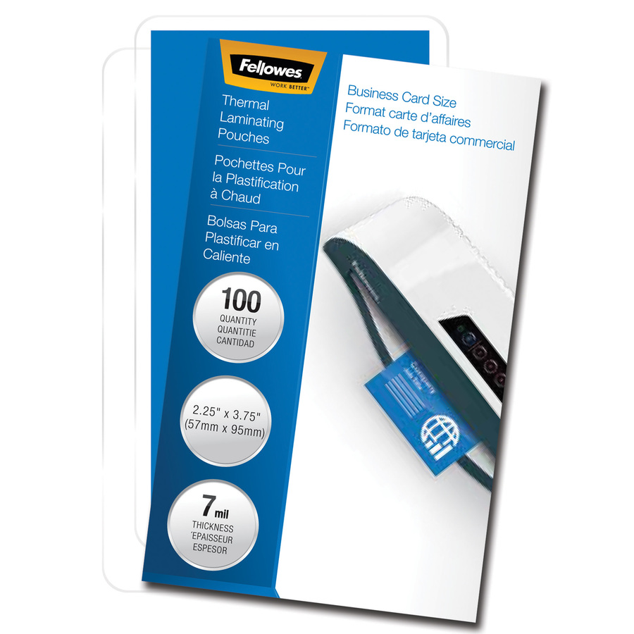 New Fellowes ImageLast 3mil Letter Size Laminating Pouches 25pk