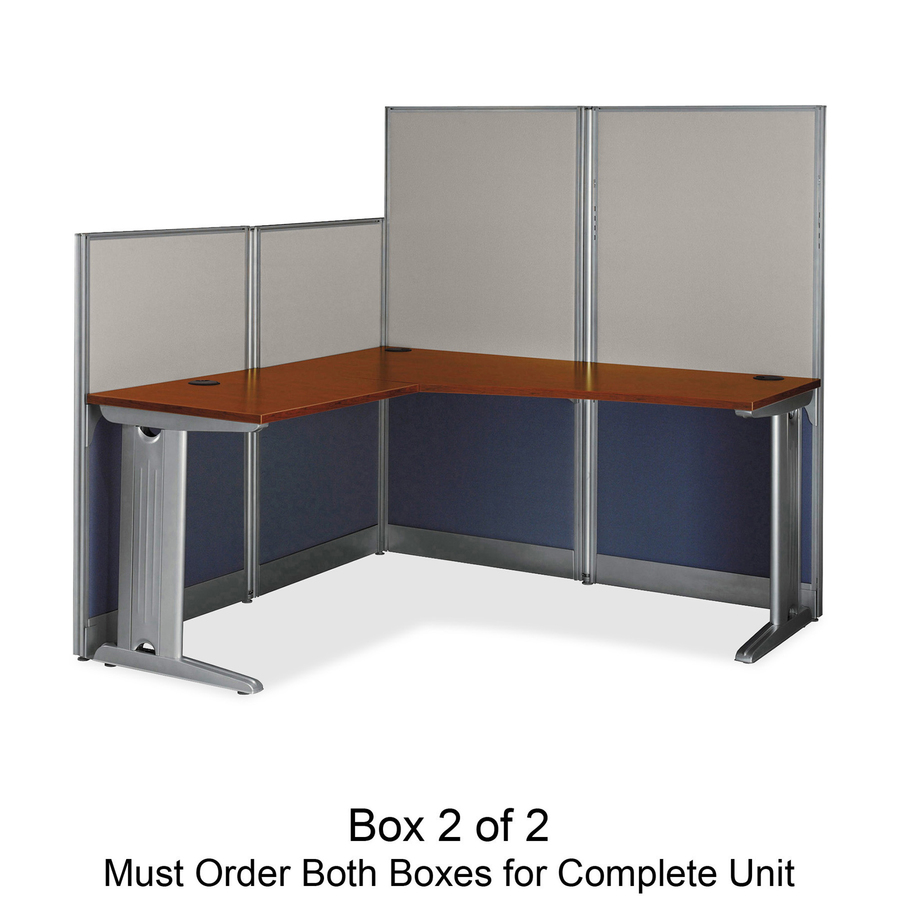 Bush business furniture office in an hour 65w x 65d l for D furniture galleries going out of business