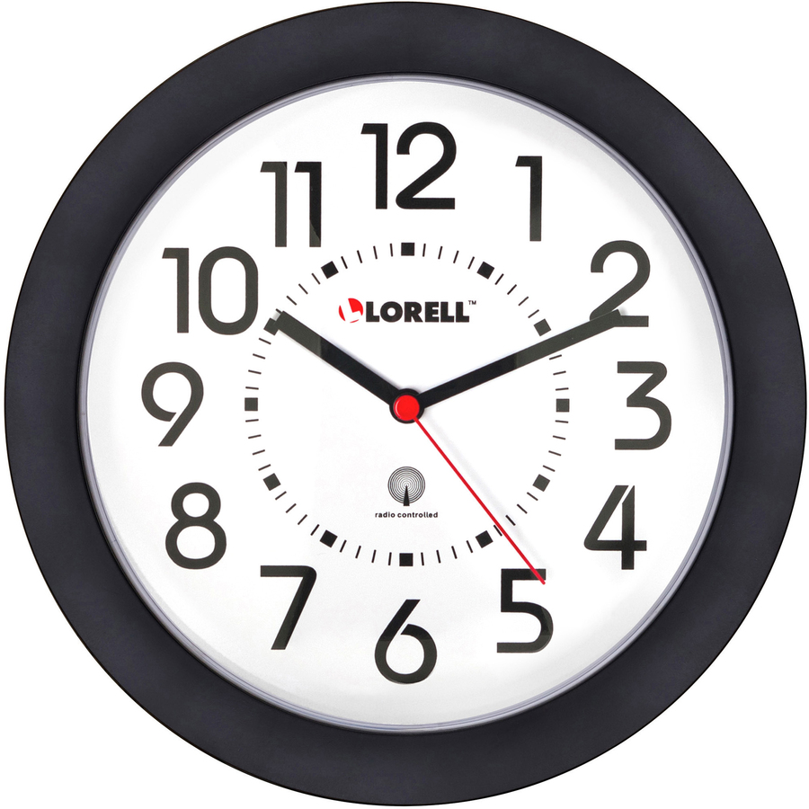 Lorell 60990 Lorell Radio Controlled Wall Clock Llr60990