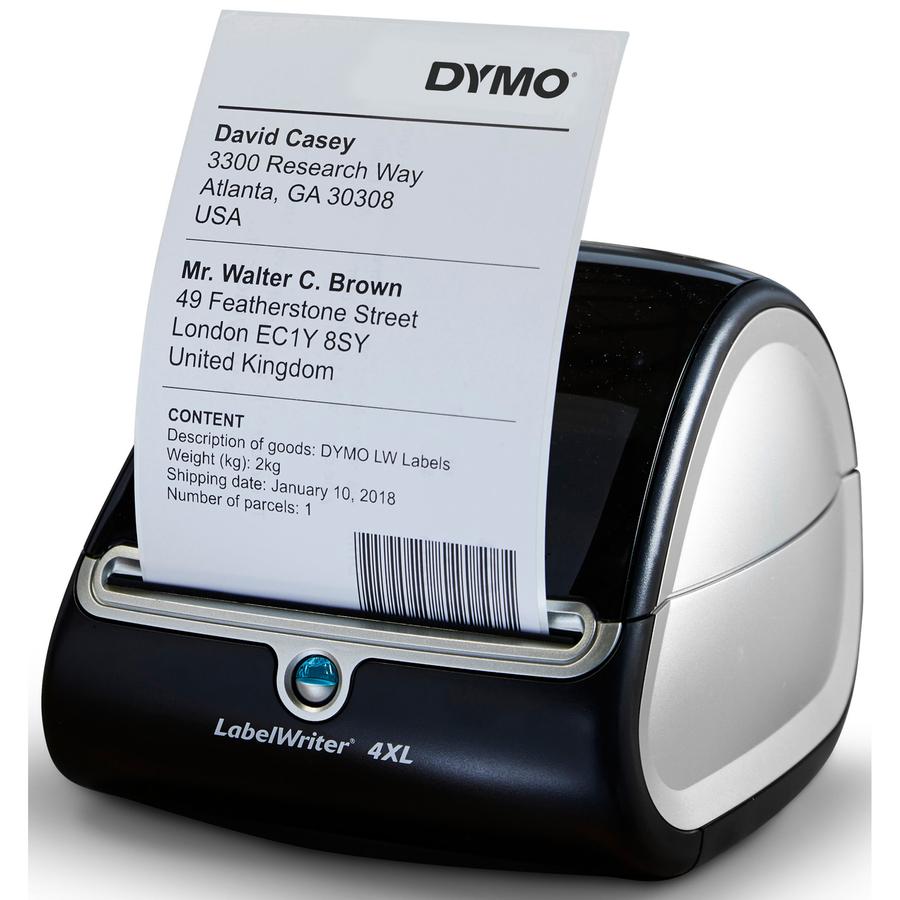 Dymo LabelWriter 4XL Direct Thermal Printer - Monochrome - Desktop - Label  Print - 4 16